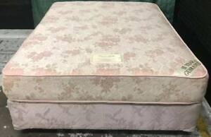 Excellent condition queen bed base with firm mattress for sale Kingsbury Darebin Area Preview