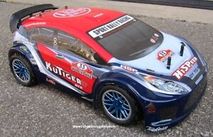 New RC Sports Rally Car  Brushless Electric 4WD 2.4G LIPO RTR