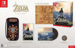 Zelda Breath Of The Wild:Special Edition for Nintendo Switch
