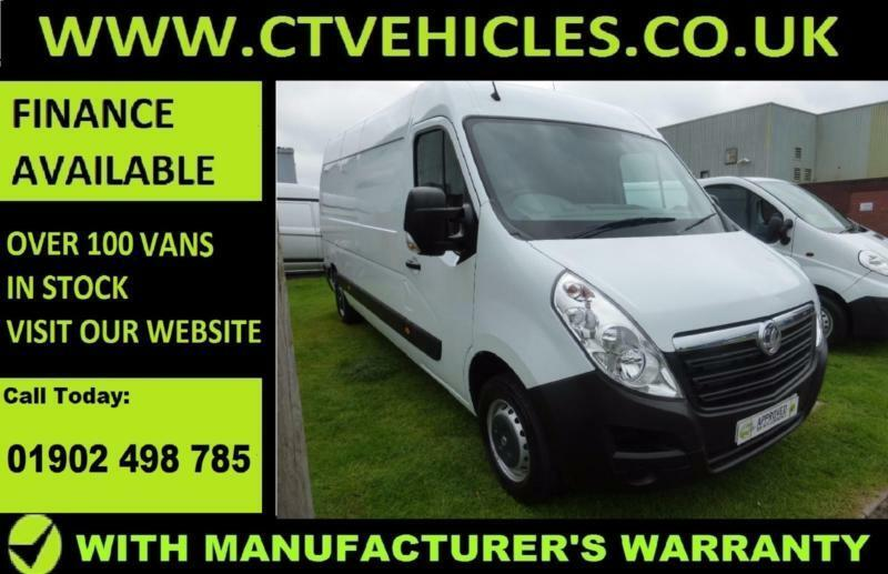 2016 66 Vauxhall Movano 2.3CDTI 125PS L3H2 F3500 A/C Van Air conditioning LWB