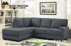 All 2pcs Fabric Sectional Sofa Set only $698 - Deliver in GTA