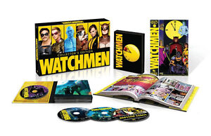 Watchmen Ultimate Cut Collector's Edition-Graphic Novel&BluRay/