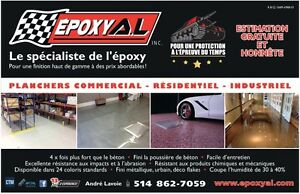 Epoxy Polyuréa  floors- Concerte repairs Cément- finishes