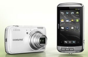 Nikon COOLPIX S800c 16 MP, built-in Android, GPS, WiFi, BT
