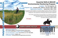 BEAHR Environmental Monitoring Program *Fort Qu'Appelle*