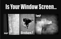 PRO WINDOW SCREENS AND FRAME REPLACEMENT SERVICES