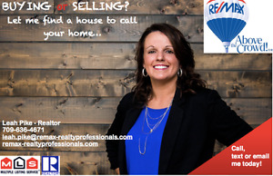 LEAH PIKE - REMAX REALTOR