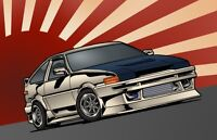 Hachi Roku Levin project initial D REAR DRIVE Holy mackerel, eh
