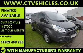 2016 16 plate Ford Transit Custom 2.2TDCi 125PS 290 L1H1 Trend cruise control