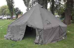 Canadian Army 10 man tents