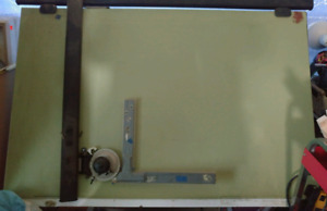 Professional Italian Drafting table and Drafting machine