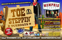 Toe Steppin' Tuesday's @Memphis North -Free Line Dancing Lessons