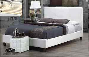 DOUBLE PLATFORM BED COMPLETE WITH PILLOW TOP MATTRESS