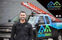 ROOF LEAK? NEED A NEW ROOF? CALL THE ROOFING MASTER!