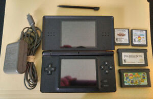 Nintendo DS Lite + DS & GBA Games