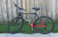 "ROAD BIKE, 24 SPEED, 21""INCH FRM, 700X32 TIRES, CCM 700"