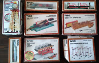 Collection of HO scale model train items