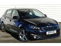 Peugeot 308 Allure 1.2 e-THP PureTech 5dr Petrol Manual Blue