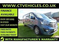 2016 16 Vauxhall Vivaro 1.6CDTi Sportive 2900 ecoFLEX LWB L2H1 L2 A/C