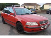 Volvo V40 old 1997 car in excellent condition for year, first genuine viewer will buy
