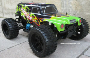 New RC Electric Truck Baja Style 4WD 2.4G RTR 1/10 Scale