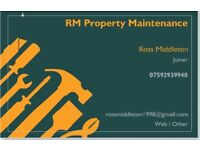 **JOINER** RM JOINERY & MAINTENANCE