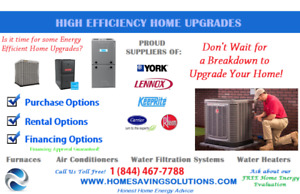 96-98% High Efficiency A/C & Furnaces   Up to $4,000 in Rebates!