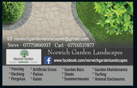 Norwich Garden Landscapes *Contact us for a free quote*