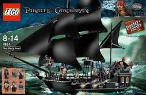 LEGO BLACK PEARL AND QUEEN'S ANNE REVENGE