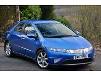 Honda Civic 1.8i-VTEC ( 18in Alloys ) EX Azure Blue