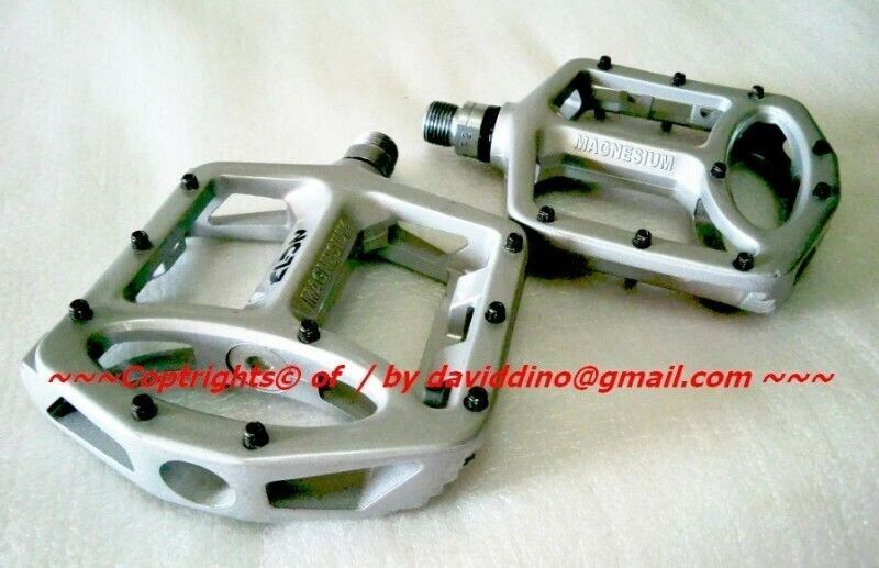 ~~~ NC-17 MagNesium BiCyCle PeDals 296 grams $98 ~~~