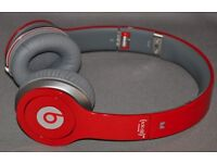 Beats by Dre HD solo red
