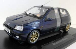 VENDU 1/18 Norev DIECAST MODEL Renault Clio Williams BLUE