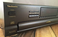 TECHNICS-5 DISC ROTARY COMPACT DISC PLAYER