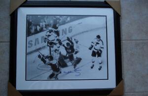 """Bobby Orr Signed and Framed Print """"The Goal"""""""