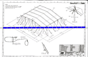 Looking to trade 50ft Tent Canopy for a TRAILER