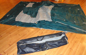 2 room tent with canopy & carry bag - 6 person