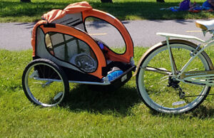 Avenir Solo Bike trailer / Stroller, for one child 150$