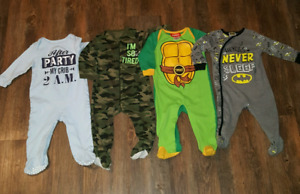 Boys size 12-18 month sleepers
