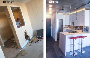 Complete IKEA Kitchen Renovations - From design to done!