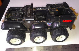 Vintage 1980s Rambo Defender 6X6 Assault Vehicle Loose COLECO