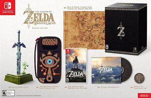 WANTED:ZELDA BREATH OF THE WILD MASTER EDITION