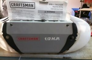 Craftsman 1/2 HP garage door opener