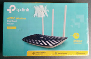 New & Sealed TP-Link Archer C20 AC750 Wireless Dual Band Router