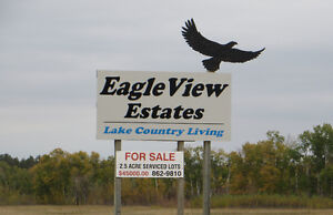 SERVICED ACREAGE only 5 minutes to TOBIN LAKE RESORT