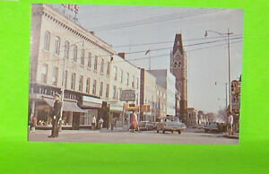 Collectable Postcard Front Street Looking South  Belleville Ont.