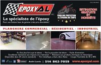 Concrete floor coating Epoxy Polyuréa