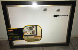 """Magnetic Dry Erase Board, 17"""" x 23"""""""