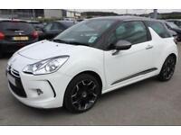 2014 WHITE CITROEN DS3 1.6 E-HDI AIRDREAM DSTYLE PLUS CAR FINANCE FR £25 PW