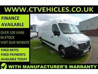 2016 16 Vauxhall Movano 2.3CDTI 125ps HD DRW L4H2 R3500 XLWB Air conditioning